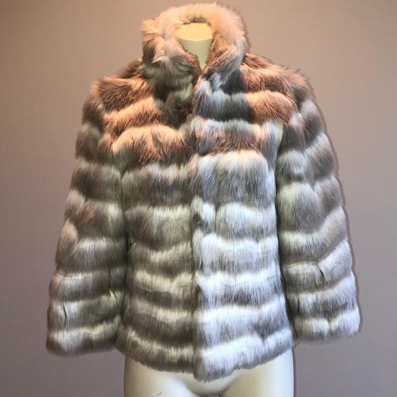 Tahari Jackets & Blazers - TAHARI Faux Fur Coat
